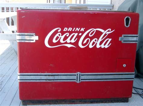 Freezer Coca Cola coca cola chest cooler collectors weekly