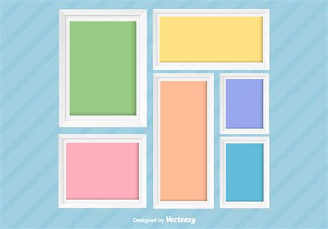 card cpllage background templates photo collage vector background free vector