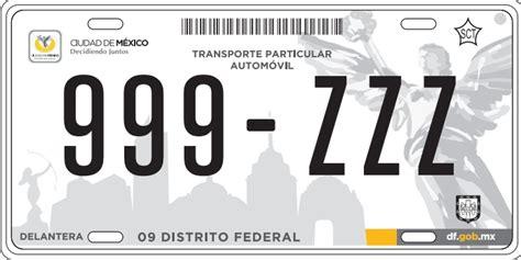 cambio placas reynosa blogs las placas nuevas no ser 225 n obligatorias para todos aclara