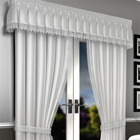 White Voile Curtains White Lined Voile Curtains Lima Lined Voile Curtains Curtains Linen4less Co Uk