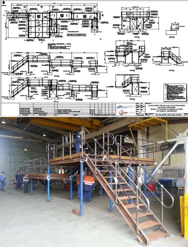 fabrication shop layout design 3d struct services