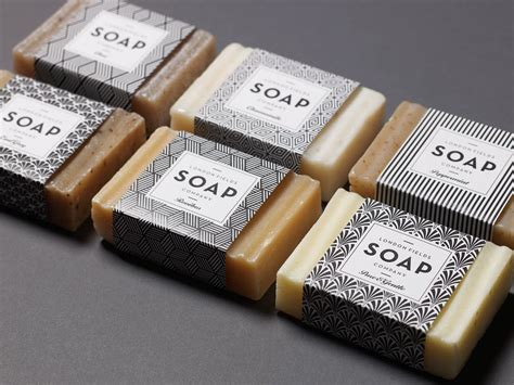 Handmade Soap Company Names - fields soap company the dieline package design