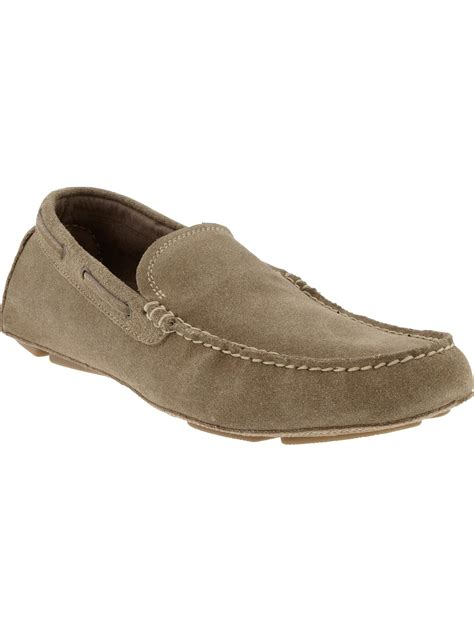 On Our Radar Banana Republic Supports The Earth by Banana Republic Garrett Driving Loafer In Beige For