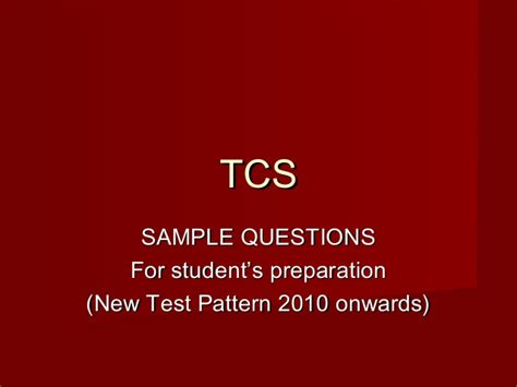 cocubes pattern aptitude test tcs 2011with solutions