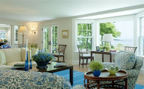 blue green living room garden inspired living room ideas