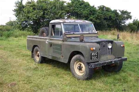 old land rover models living with an older land rover by glencoyne engineering