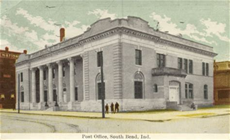 South Bend Post Office by Sbags Historic Photos Of South Bend Indiana