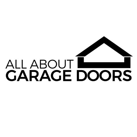 Small Business Logo Design All About Garage Doors All About Garage Doors