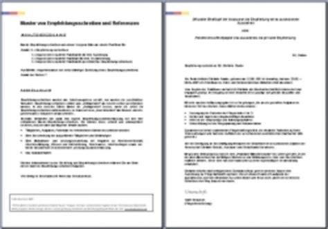Bewerbung Als Praktikantin Im Pflegeheim Bewerbungsmappen Im Bewerbungsshop24 De Referenzschreiben 3 X Referenzen Vorgesetzten An