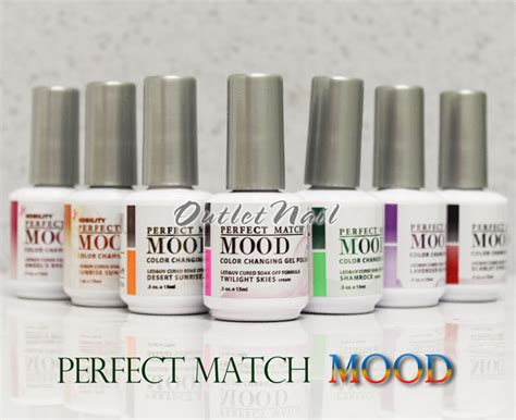 perfect match colors lechat perfect match mood 01 60 color changing gel