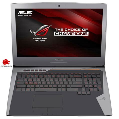 Asus Rog G752vs buy asus rog g752vs i7 gtx 1070 gaming laptop at