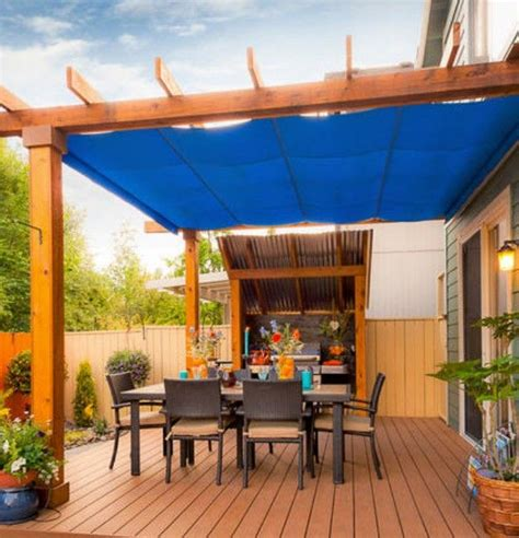 Pergola Rain Covers   Home Makeovers   Pinterest   Covered
