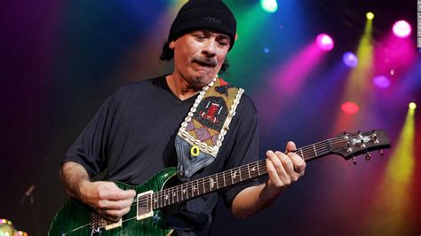 Carlos Santana Takes A Spin On The by Taking Forever To Hit The Top Or Not Cnn