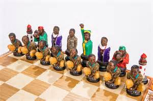 themed chess sets a south political themed chess set depicting the