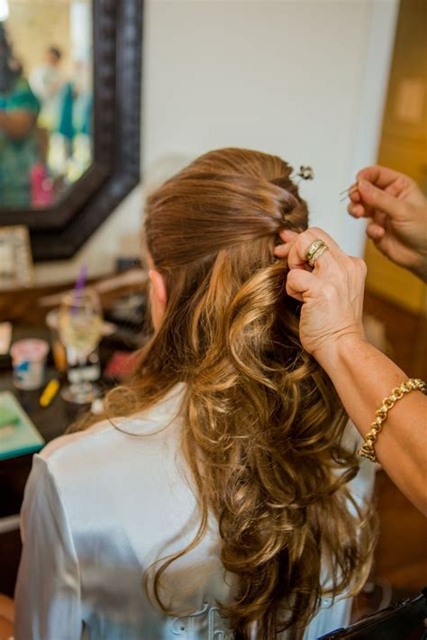 hairstyles with partial bangs partial updo wedding hair wedding pinterest partial