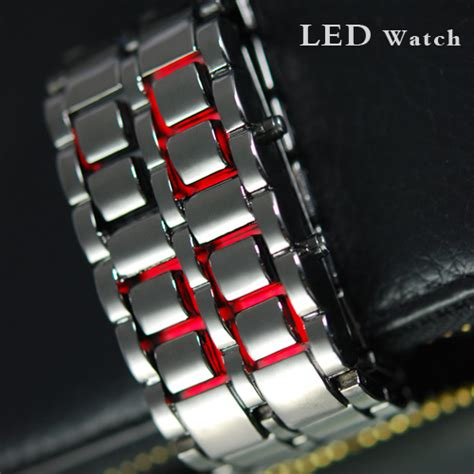 Ic Jam Tangan Tag Heuer jam tangan original jam tangan iron samurai led merah