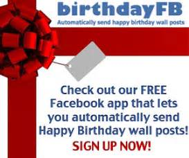 free schedule amp auto post happy birthday wishes on