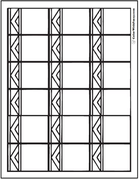 aztec coloring pages pdf pattern coloring pages customize pdf printables