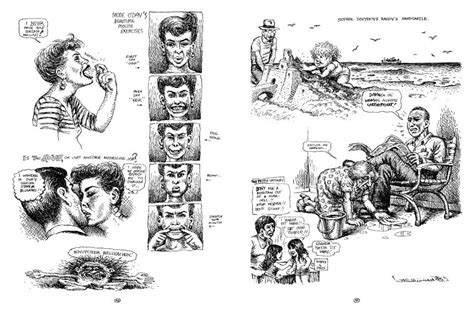 R Crumb Sketches by Tom Poulton Drawings