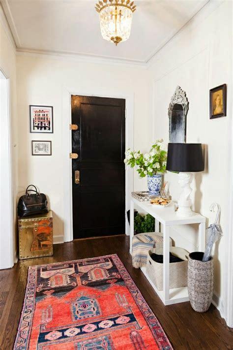 teppich im eingangsbereich vintage teppiche gestalten ihre wohnung erstaunlich gut um