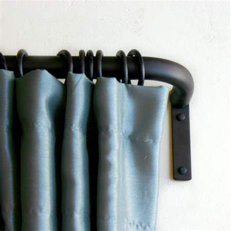 iron curtain rods wrought iron curtain poles made to order with iron curtain