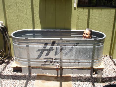 trough bathtub designs impressive galvanized water trough bathtub