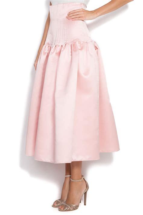 taffeta skirt midi skirts made to measure