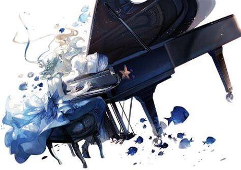 anime piano pixiv let s play music piano collection pixiv