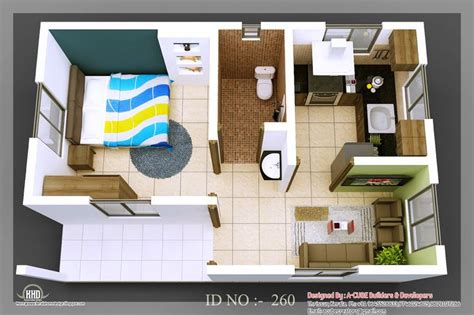 3d home kit design works smallhomeplanes 3d isometric views of small house plans