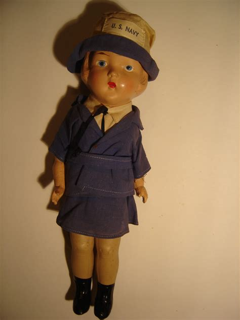composition doll collectors us navy doll composition collectors weekly