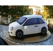 Zuccheriamo Torta Macchina Fiat 500