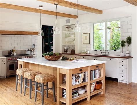 kitchen island farmhouse 10 dashing modern kitchens that combine marble and wood