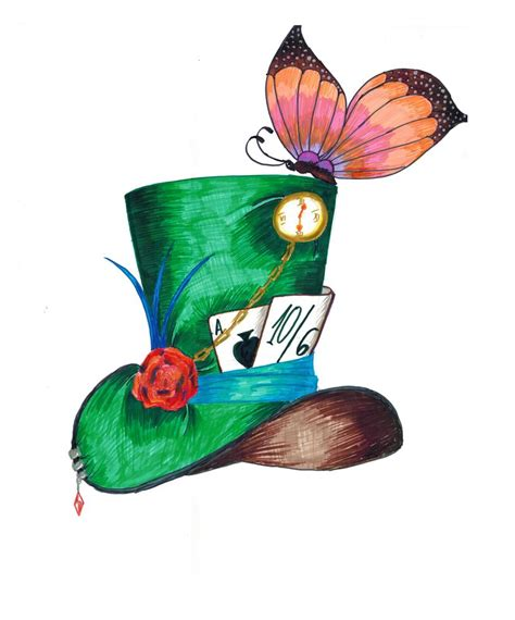 mad for cartoon mad hatter hat www imgkid com the image kid