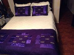 bed scarves and matching pillows quilt made out of crown royal bags here are all the crown squares cut quilts