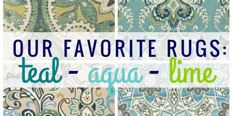 remodelaholic  green  blue area rugs youll love