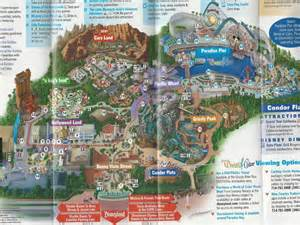 disney california adventure park map printable california adventure park map new calendar