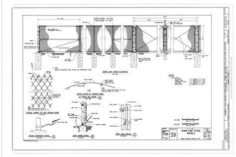Chaign County Search Chain Link Fence Plan Drawings Images