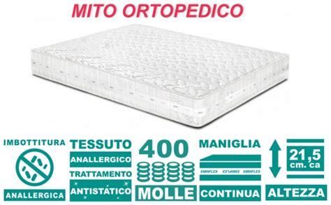 materasso ortopedico eminflex materasso eminflex mito ortopedico in offerta