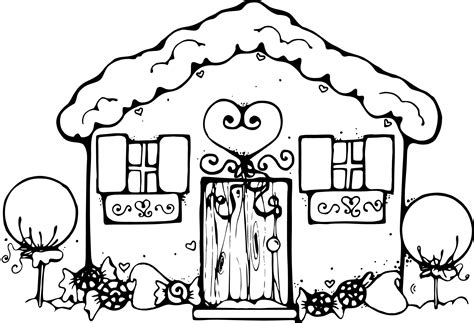 village house coloring pages free printable snowflake coloring pages for kids