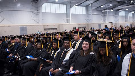 Columbia Mba Graduation 2017 caps in the air columbia southern holds