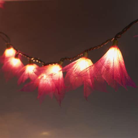 9ft Tropical Flower Lights 110vac String Lights Wine Tropical String Lights