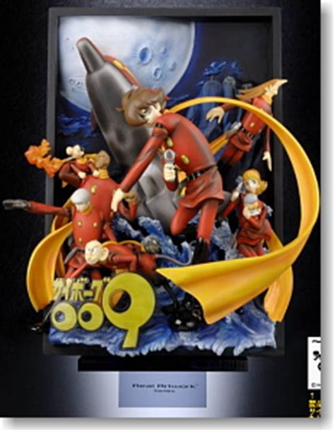 figure cyborg 009 real artwork series cyborg 009 solid poster pvc