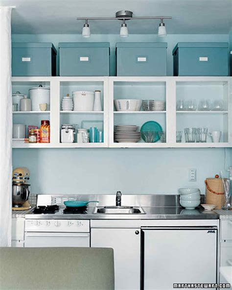 shelves above kitchen cabinets kitchen storage organization martha stewart