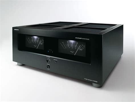 onkyo   power amplifier   audioholics
