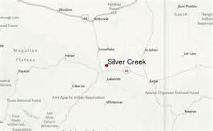 map of creek arizona silver creek arizona weather forecast
