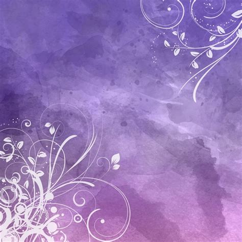 decorative background decorative floral design on a watercolour background
