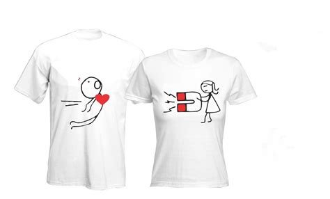 Same T Shirts For Couples Intriguing Printing T Shirt For Couples View