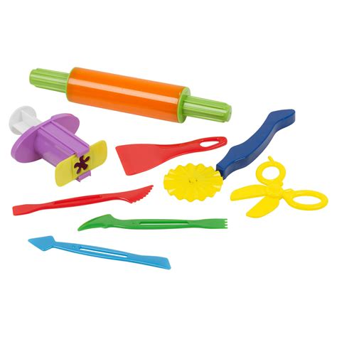 Children S Kitchen Utensils by 42 Play Dough Craft Utensil Shapers Tubs Gift Set