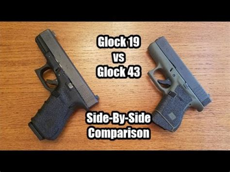 glock 19 vs glock 26 comparison | doovi