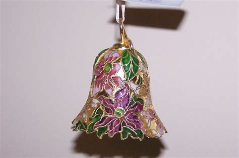 post holiday sale cloisonne ornament bell